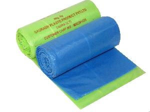 Captain-19x21 Green Bag Roll Garbage Bags