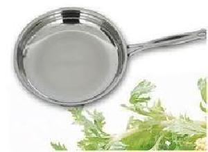 Stainless Steel Mirror Polished Frying Pans
