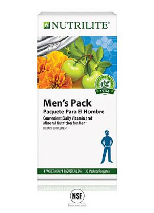 Nutrilite Mens Pack Vitamin & Mineral Nutrition Supplements