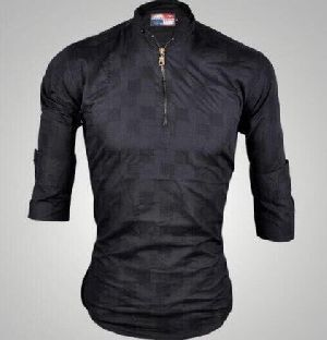 Mens Casual Plain Shirts