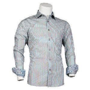 Mens Striped Formal Shirts