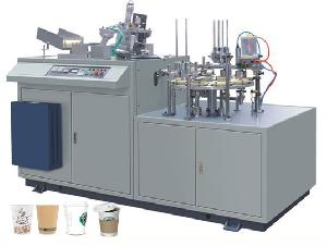 Sleeve Paper Cup Making Machine