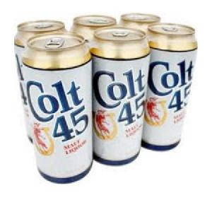 16 Fl Oz 6 Pack Colt 45 Malt Liquor