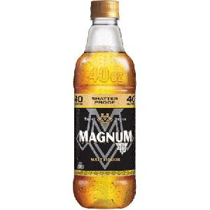 40 Fl Oz Magnum Malt Liquor Glass Bottle
