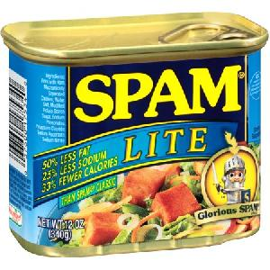 12 Oz Spam Lite Canned Meat