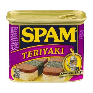12 Oz Spam Teriyaki Luncheon Canned Meat