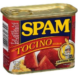 12 Oz Spam With Tocino Seasoning Canned Meat