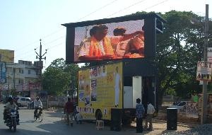 hydraulic led display screen mobile van services