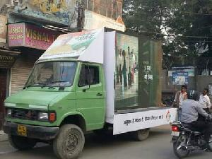 Led mobile van on hire services