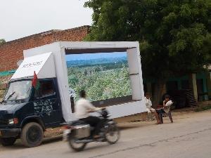Led Mobile Van On Rent