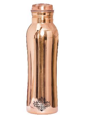 Copper Curved Leak Proof Bottle 1000 ML