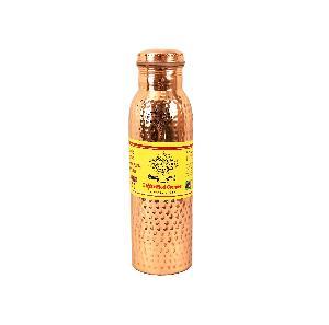 Copper Hammered Leak Proof Bottle 1000 ML
