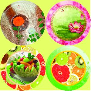 Fancy Paper Plate Raw Material