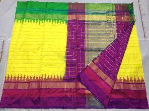 Handloom Pochampally Ikkat Pure Silk Sarees