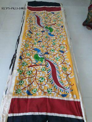 Pen Kalamkari Cotton Dupatta
