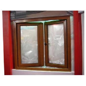 Brown High Quality UPVC Window