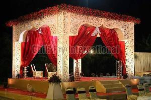 Wedding Fiber Mandap