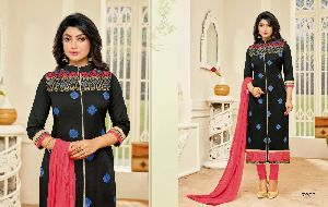 Ganesh Fashion Baby Doll Cotton Embroidery Suits
