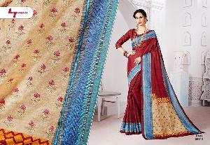 Manipuri Silk Embroidered Sarees