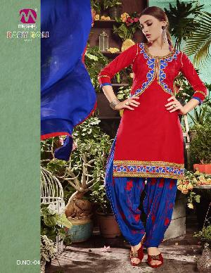 meghali baby doll vol33 cotton suits