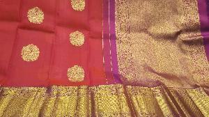 organza kanjeevaram silk sarees