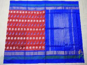Pochampally Ikkat Pure Silk Sarees