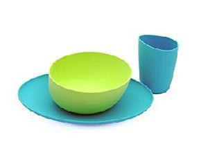 Plastic Dinner Set 04