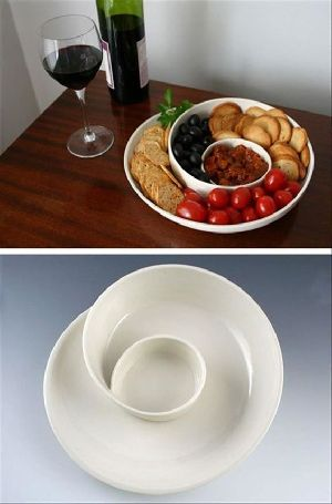 Plastic Snacks Tray
