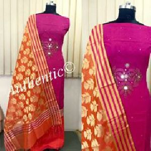 Banarasi Chanderi Silk Suits
