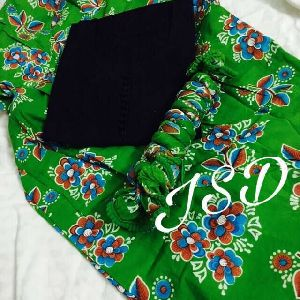 Jsd Summer Printed Readymade Cotton Patiala Suits
