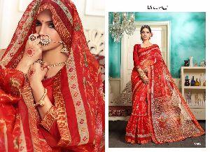 lifestyle kalamkari cotton sarees