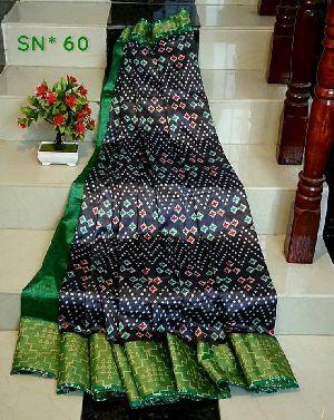 Pochampally Ikkat Cotton Silk Sarees