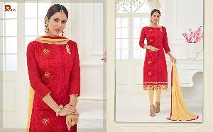 Rishab Nx Supriya Cotton Embroidery Suits