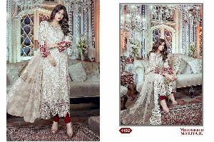 shree fab embroidered maria b suit