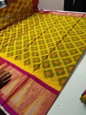 Pochampally Print Silk Cotton Sarees