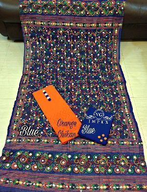 Cotton Chikan Work Suits
