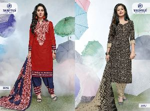 Deeptex Miss India Vol 38 Pure Cotton Printed Suits