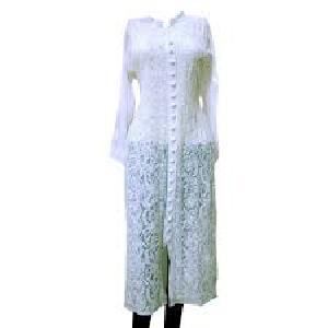 fashionable cotton chikanwork kurtis