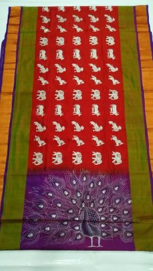 Handloom Uppada Pattu Silk Sarees