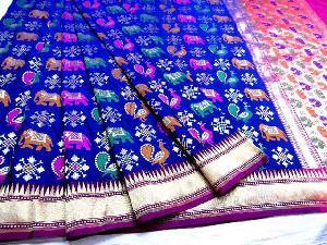 Latest Handloom Banaras Katan Silk Sarees
