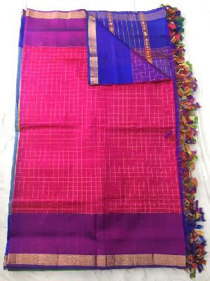 Mangalagiri Cotton Silk Sarees