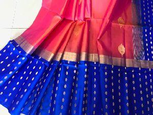 Pure Gadwal Pattu Silk Sarees