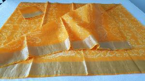 Kota Silk Bandhej Printed Sarees