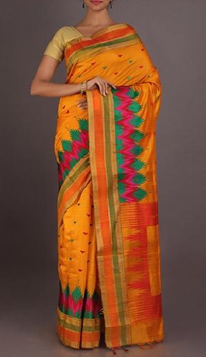 pure silk chikankari work sarees