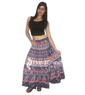 Cotton Hippie Gypsy Bohemian Skirts