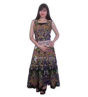 Ethnic Designer Long Evening Gown Dress
