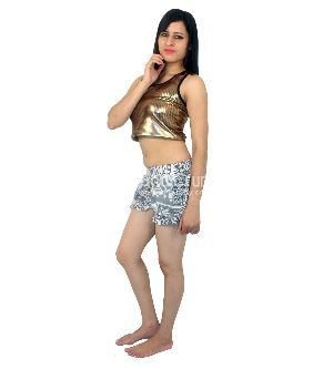 5ff2f3d739413 Indian Womens Cotton Printed Beach Shorts