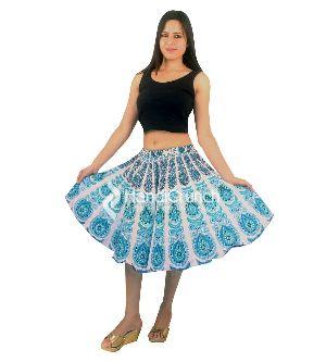 Women Printed Summer Short Skirt