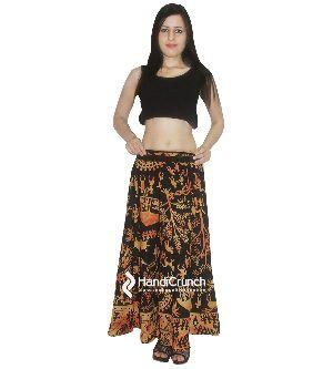 8edba227b Cotton Handmade Beautiful Tribal Mandala Print Floor Length Long Skirts