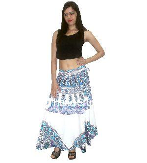 Women's Bohemian Hippie Long Skirts Raprons
